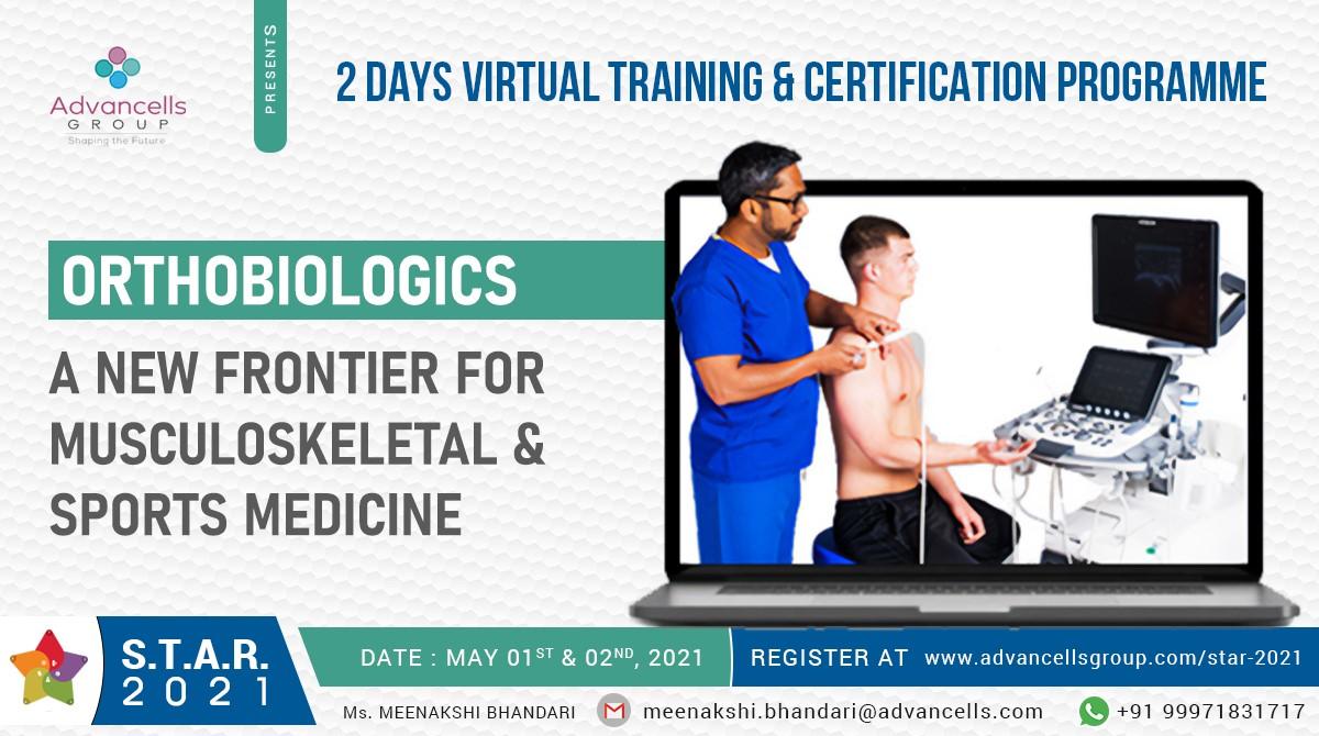 Advanced Orthobiologics Workshop S T A R 2021