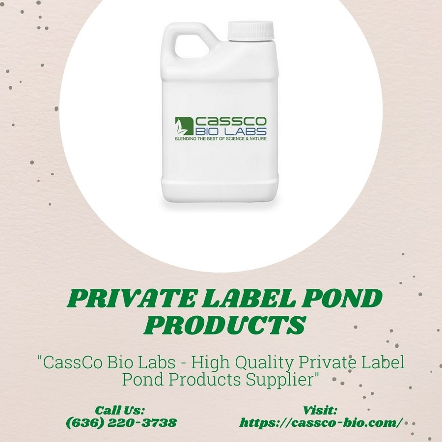 Private Label Pond Products
