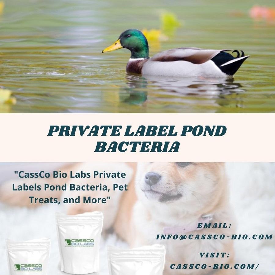 Private Label Pond Bacteria