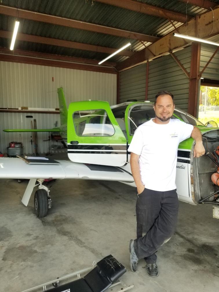 Skybound Aviation Director of Maintenance Greg Manning