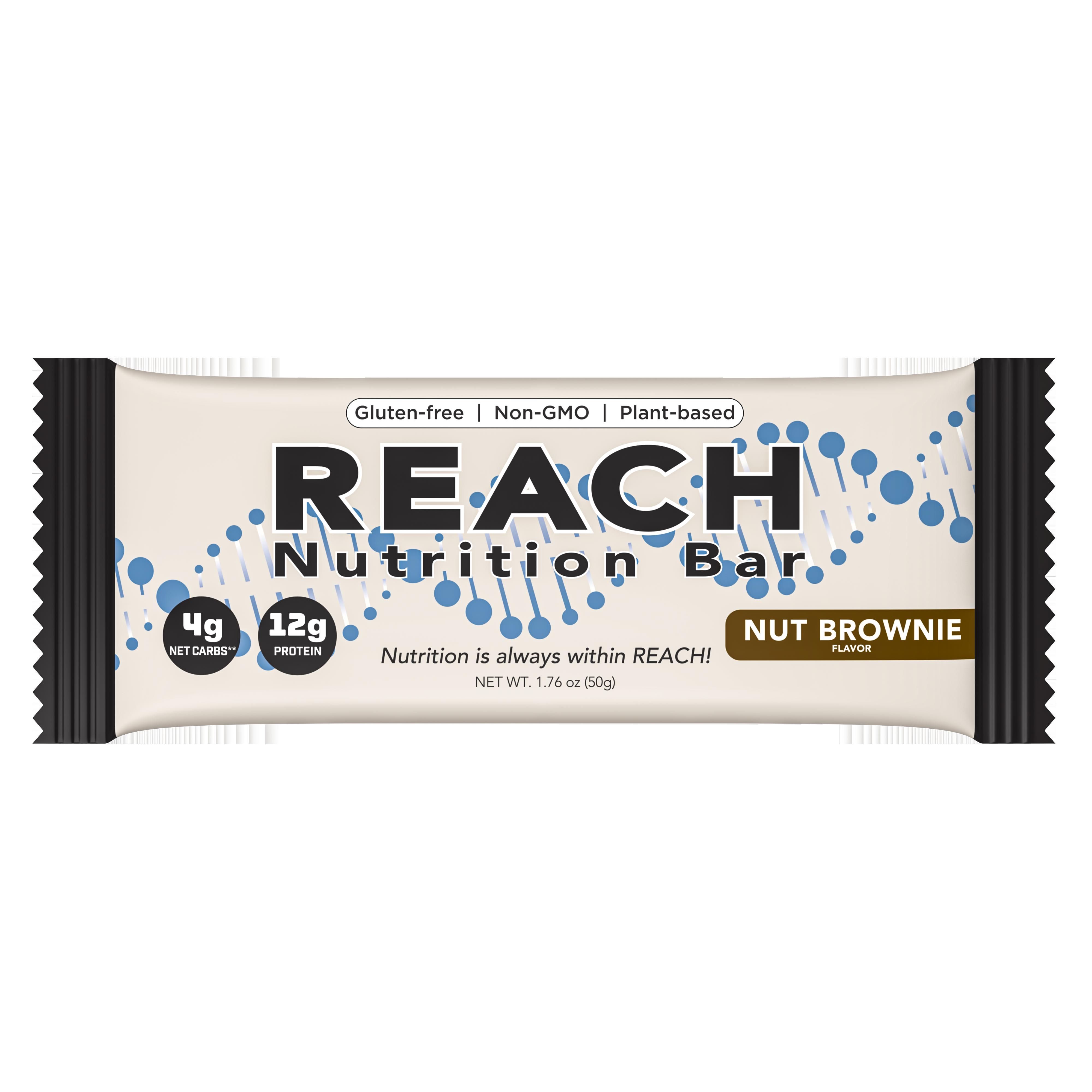 Reach Nutrition Nut Brownie Bar